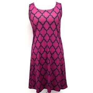 Jean-Pierre Klifa Key Hole Fuchsia Dress